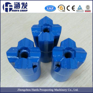 Hard Stone Rock Drilling Taper Cross Bit pictures & photos