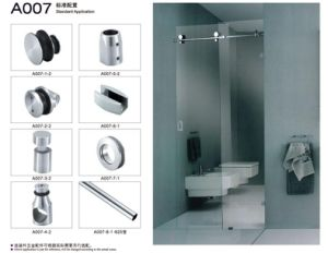 Sliding Glass Door Fitting Stainless Steel Hanging Wheel Hinge pictures & photos