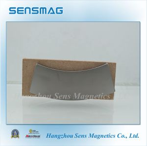 Manufacture Strong N52 Permanent Rare Earth NdFeB Arc Magnet for Generator pictures & photos