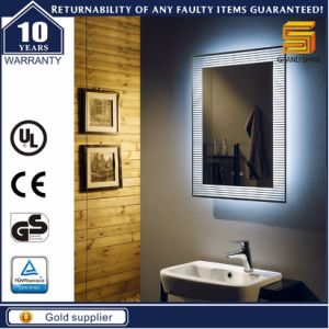 TUV Marked Waterproof Bathroom Electric Illuminated LED Mirror pictures & photos