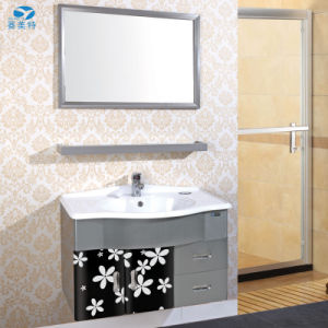 High Quality Stainless Steel Hotel Bathroom Cabinet Vanity pictures & photos