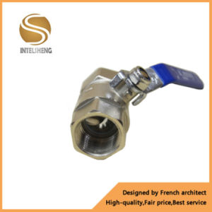 Pn25 Brass Ball Valve with Chrome Plated pictures & photos