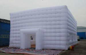 White Inflatable Cube Tent Inflatable Tent for Party