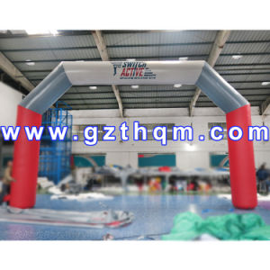 Inflatable Rainbow Archway for Advertising/Inflatable Arch for Event Party Decoration pictures & photos