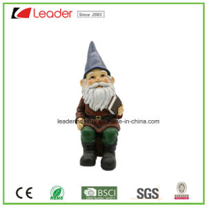 Newest Polyresin Gnome Statue Craft Decorative for Home Decoration and Garden Ornaments pictures & photos