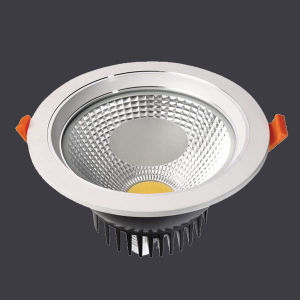 Anti-Glare 15W COB LED Downlight with Die Casting Aluminum Glass pictures & photos