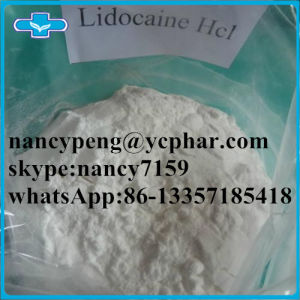 Medical Supply Local Anesthetic Lidocaine Pain Killer Drugs Lidocaine HCl pictures & photos