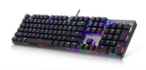 Mechanical Keyboard USB Wired Gaming Keyboard Blue Switch with 19 Backlight Mode pictures & photos