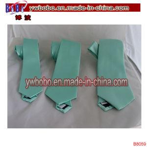 Mens Polyester Matt Mint Green Ties Mens Ties Skinny Tie (B8059) pictures & photos