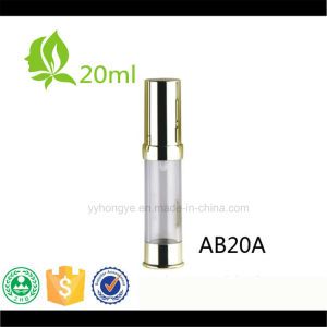 20ml Beauty Cosmetics Bottles Sliver/Gloden Airless Bottle pictures & photos
