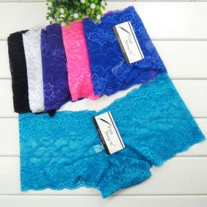 Hot Sale Women Lace Underpants pictures & photos