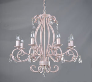 UL Approval Orb Finishing Wroght Iron Top Sale Candle Chandelier pictures & photos
