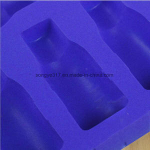 Flocking Cosmetic Blister Packaging Tray pictures & photos