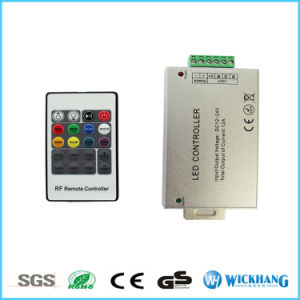 20 Keys RF Remote Wireless RGB Controller DC12V 24V 12A for 5050 3528 RGB Strip pictures & photos