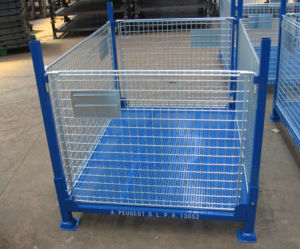 Warehouse Customized Mesh Steel Container pictures & photos