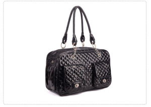 High Quality Eco-Friendly PU Leather Packet Hand Pet Carriers pictures & photos