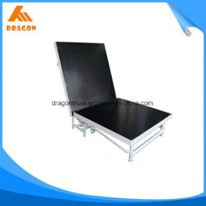 Indoor Height 610-810mm Aluminum Folding Stage pictures & photos