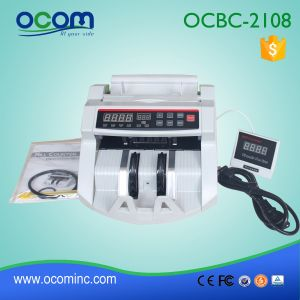Automatic Banknote Counter Machine with Counterfeit Detect Function Ocbc-2108 pictures & photos