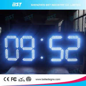 Outdoor Waterproof Jumbo Digital LED Clock Sign for Building pictures & photos