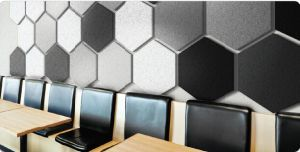 Interior Wall Paneling Polyester Fiber Acoustic Board pictures & photos