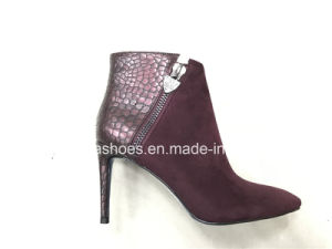 New Sexy Fashion High Heels Women Ankle Boots pictures & photos