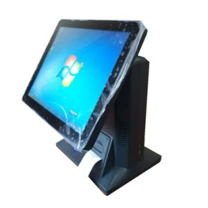 Full Flat Touch Screen POS Terminal with Thermal Receipt Printer