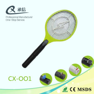 Durable Middle Yellow Net Electronic Mosquito Swatter pictures & photos
