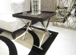 Glass Nightstand for Living Furniture pictures & photos