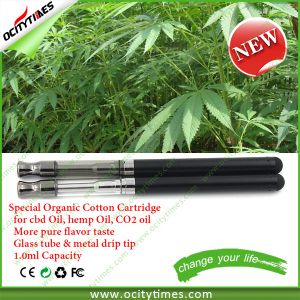Health Product New Organic Cotton Cbd Oil Vaporizer Kit pictures & photos