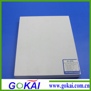 1220*2440mm 0.55density White PVC Foam Board pictures & photos