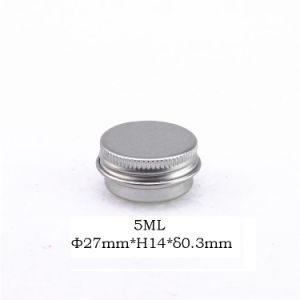 5ml Lip Balm Aluminum Tin Cans Mini Round pictures & photos