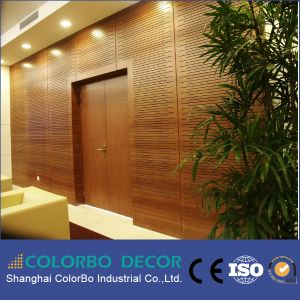 Indoor Decoration Materials Wooden Timber Acoustic Wall Panel pictures & photos