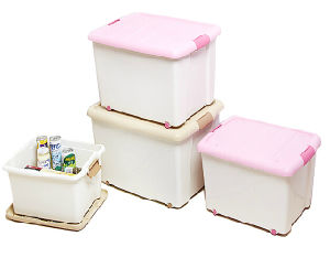 Simple Regular Plastic Storage Box for Gift Cloth pictures & photos