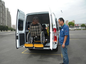 Wl-D-880s Mobility Wheelchiar Lifts for Van and Minibus and MPV pictures & photos