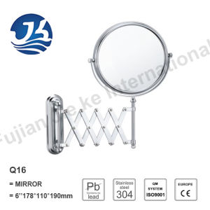 Extendable Stainless Steel Bathroom Wall Decorative Mirror Q16