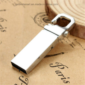 Full Metal Special Key Hook USB Flash Drive for Gift pictures & photos