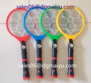 with LED Light Rechargeable Electric Flashlight Mosquito Killing Swatter pictures & photos