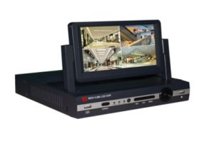 """Home Security 8CH 7"""" Monitor H. 264 CCTV LCD Combo Wdm DVR pictures & photos"""