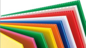Colorful PP Hollow Sheet pictures & photos