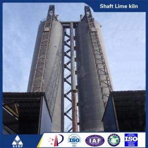 Vertical Lime Kiln Calcining Kiln Plant pictures & photos