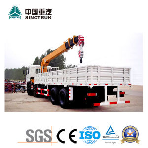 China Best Straight Arm Truck-Mounted Crane of 25 Ton