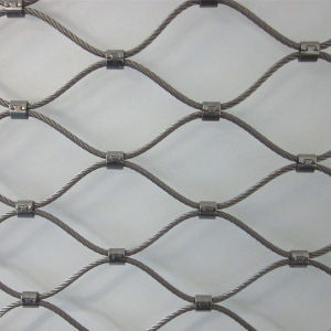 Inter-Woven Type Stainless Steel 304 Wire Rope Mesh. pictures & photos