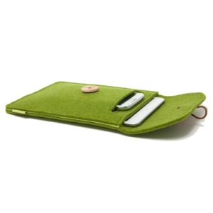 3mm Felt iPhone Pouch with Buckles