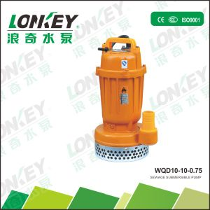 Sewage Submersible Pump Wqd for Water Project with Open Impeller pictures & photos