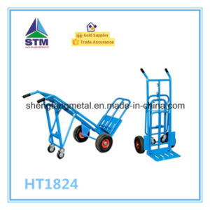 Ht1824 Four Wheel 3 in 1 Hand Truck