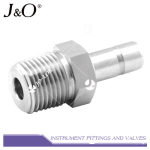 Stainless Steel Forged NPT Threaded Male Adapter Pipe Fitting pictures & photos