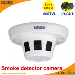 Sony CCD 800tvl Miniature Smoke Detector Disguised Camera pictures & photos