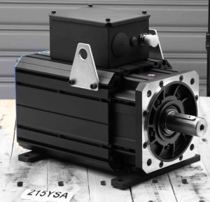 AC Permanent Magnet Servo Motor (215ysa15f 56nm 1500rpm) pictures & photos