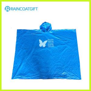 Promotional Disposable PE Rain Poncho Rpe0711-01 pictures & photos