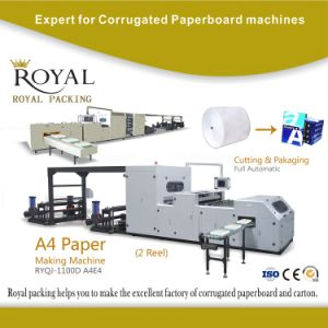 A4 Paper Making Machine, Cutting and Packaging Machine pictures & photos
